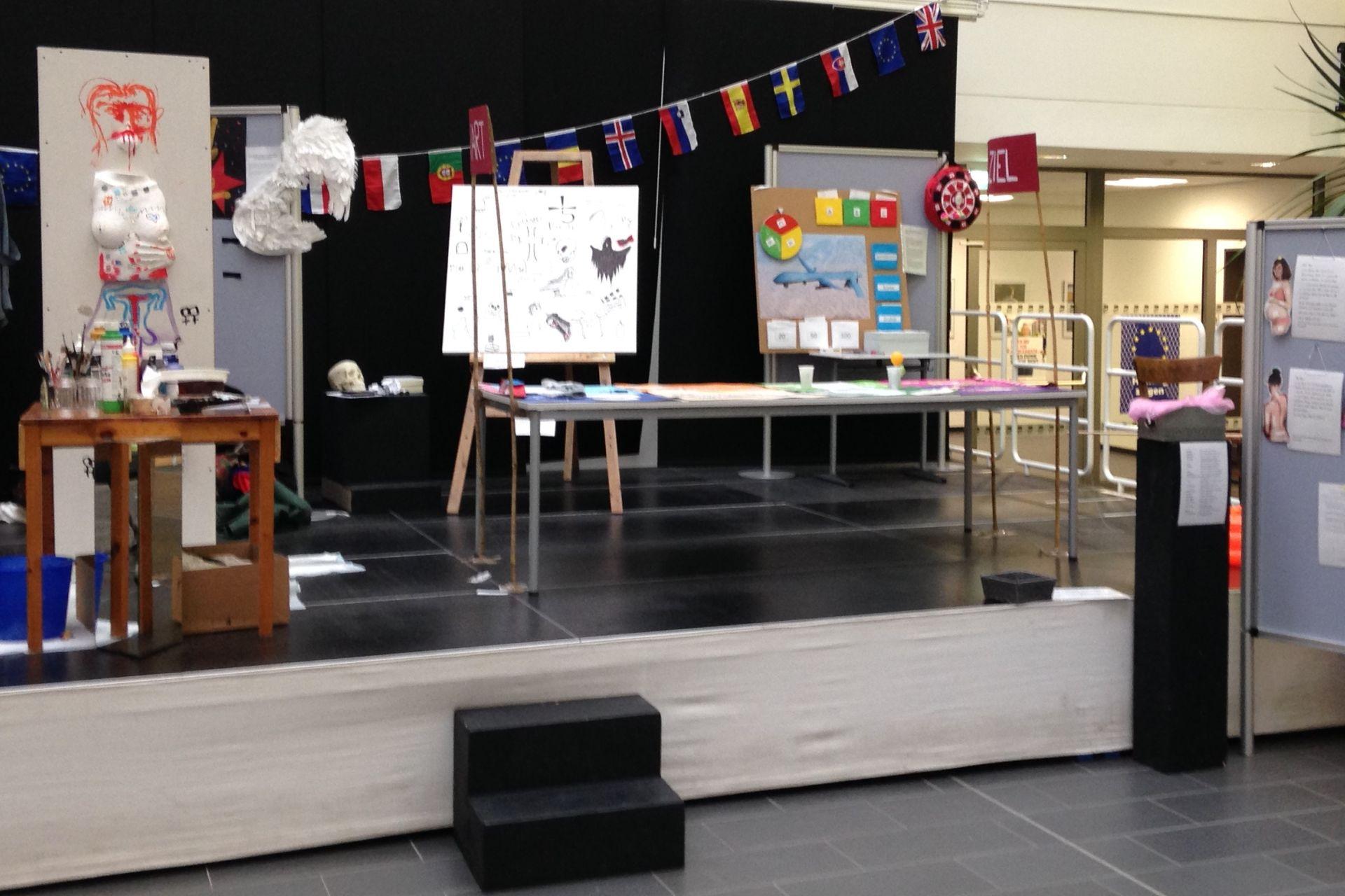 Ausstellung im Seminar 4
