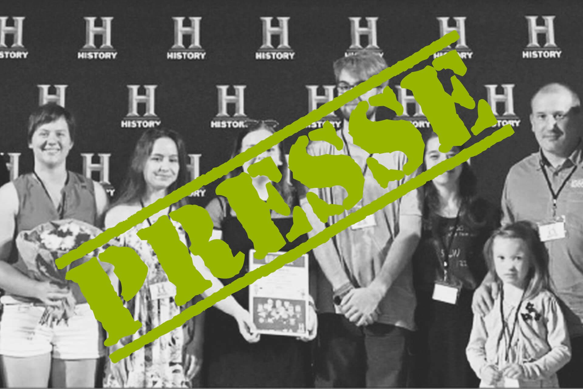 2017 06 28 Presse Preisverleihung History Award Clip Content 1