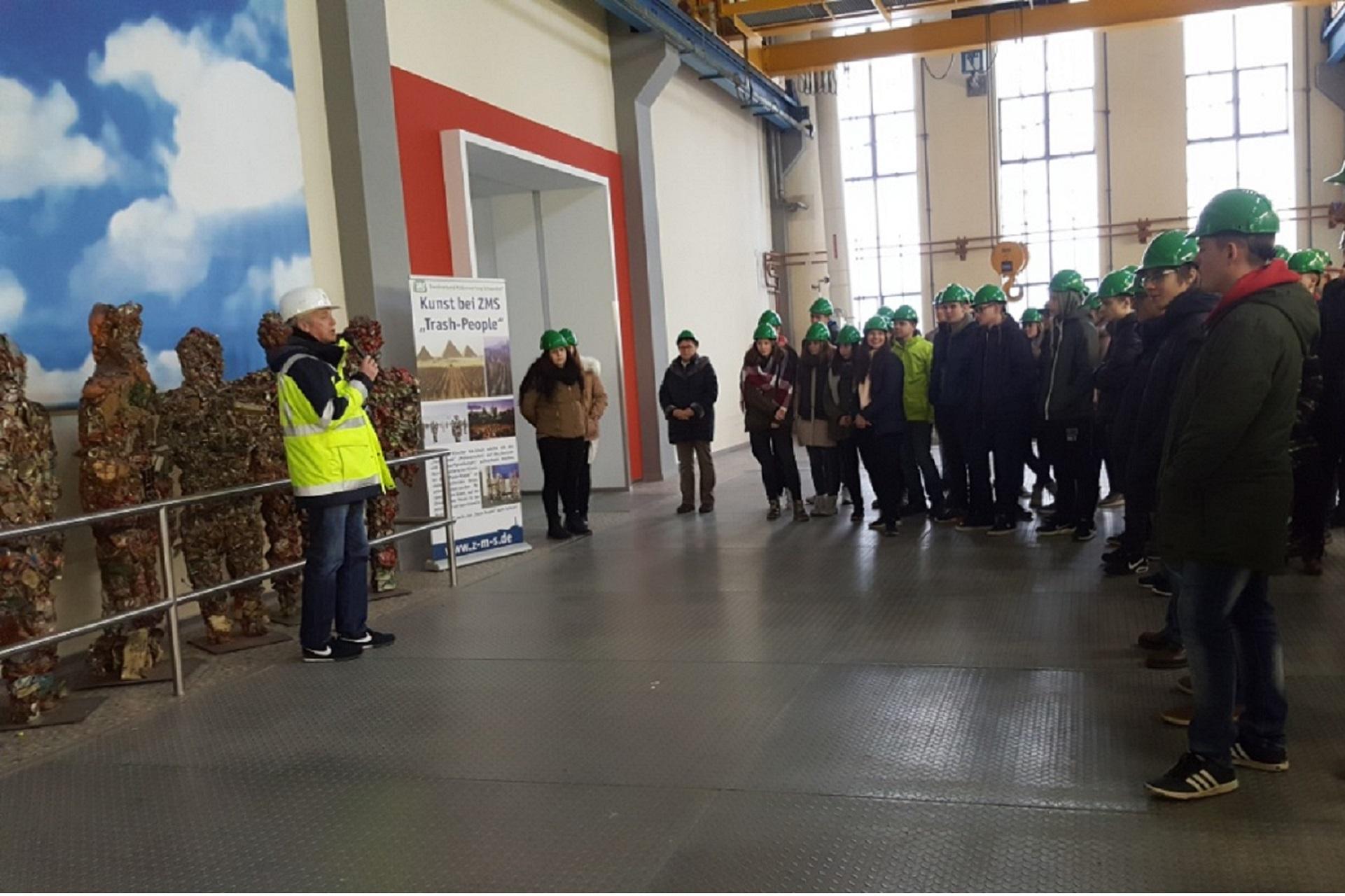 Besuch beim Zweckverband Müllverwertung Schwandorf