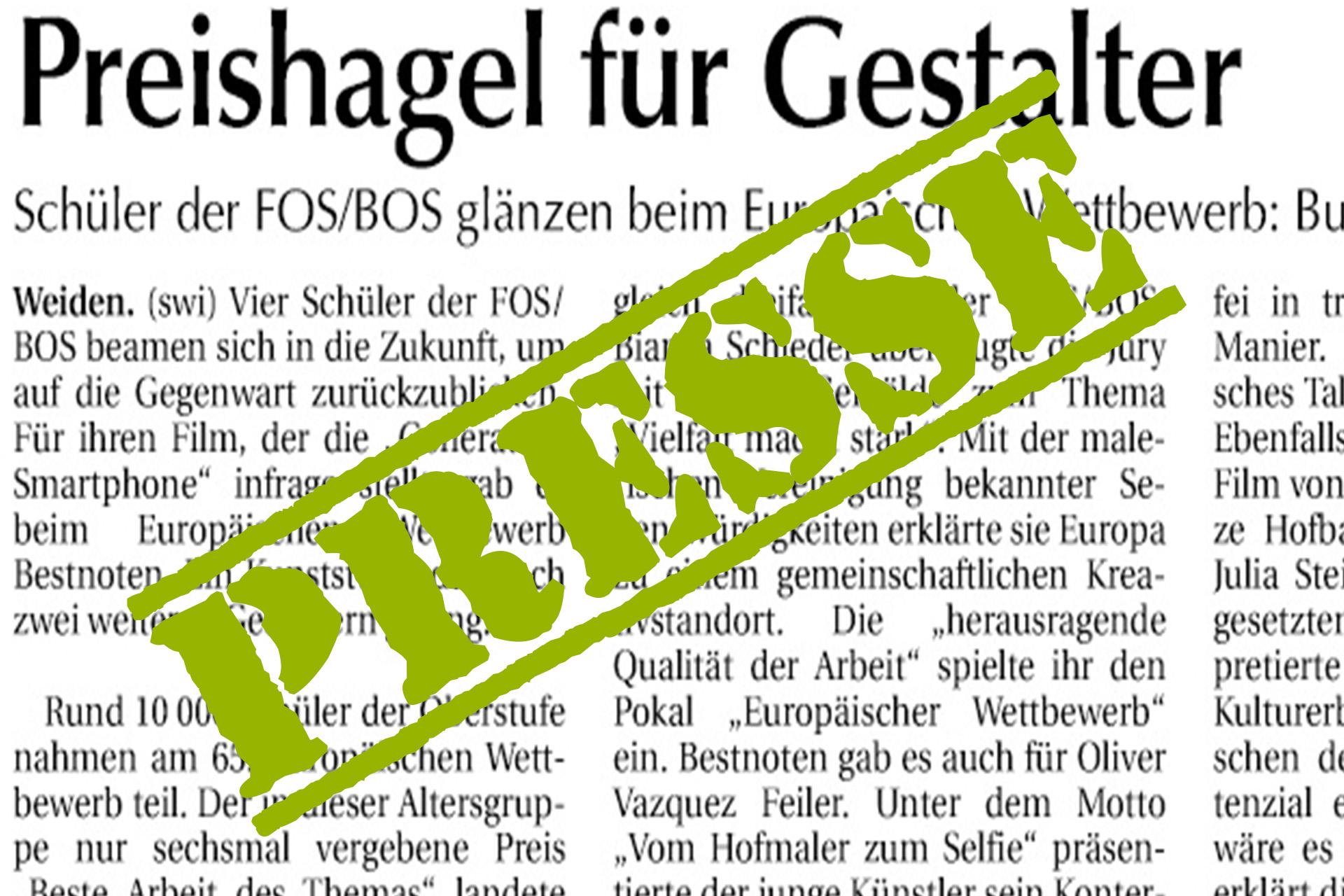 Preishagel Für FOS/BOS