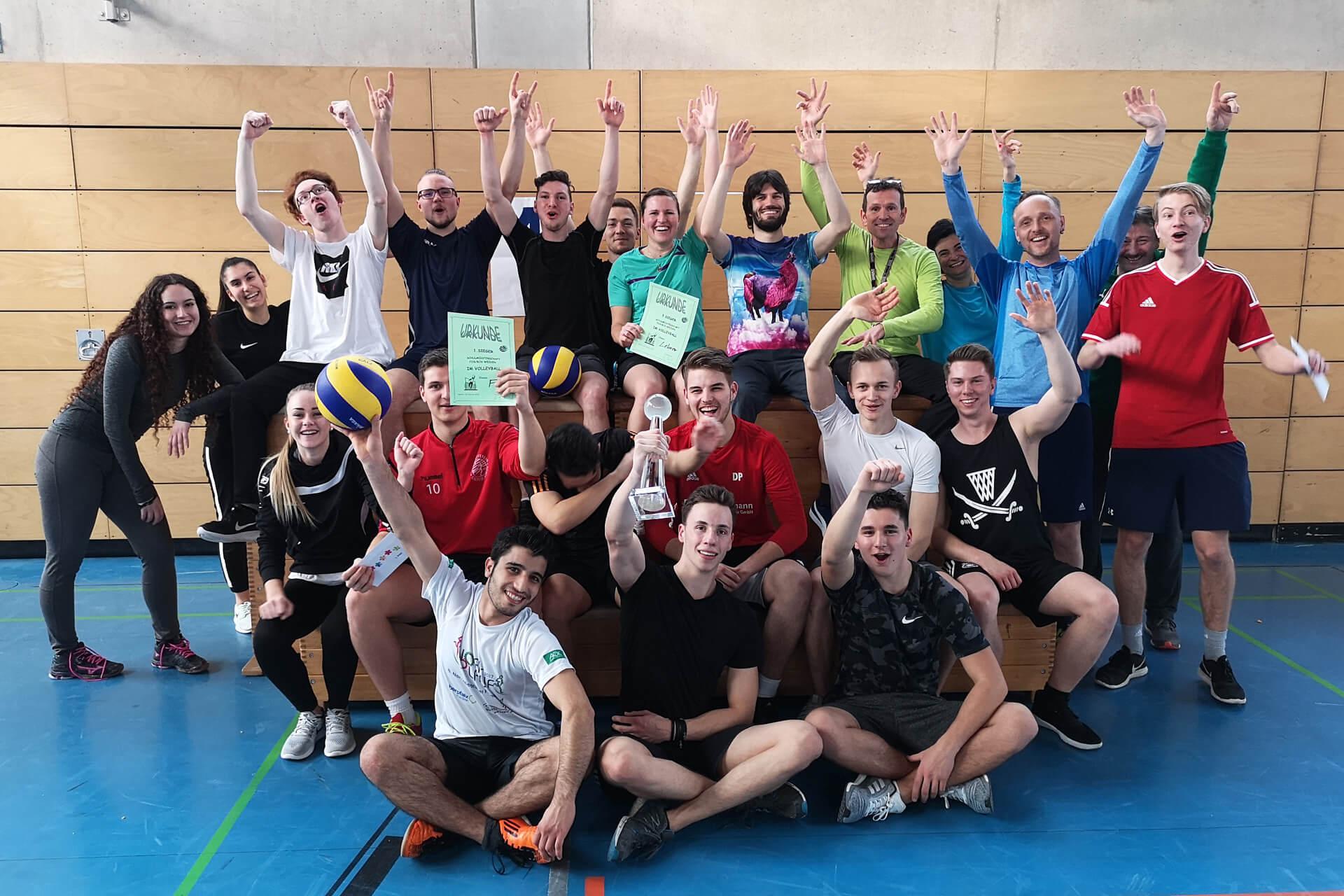 2019 02 20 Volleyballturnier Content Bild 5