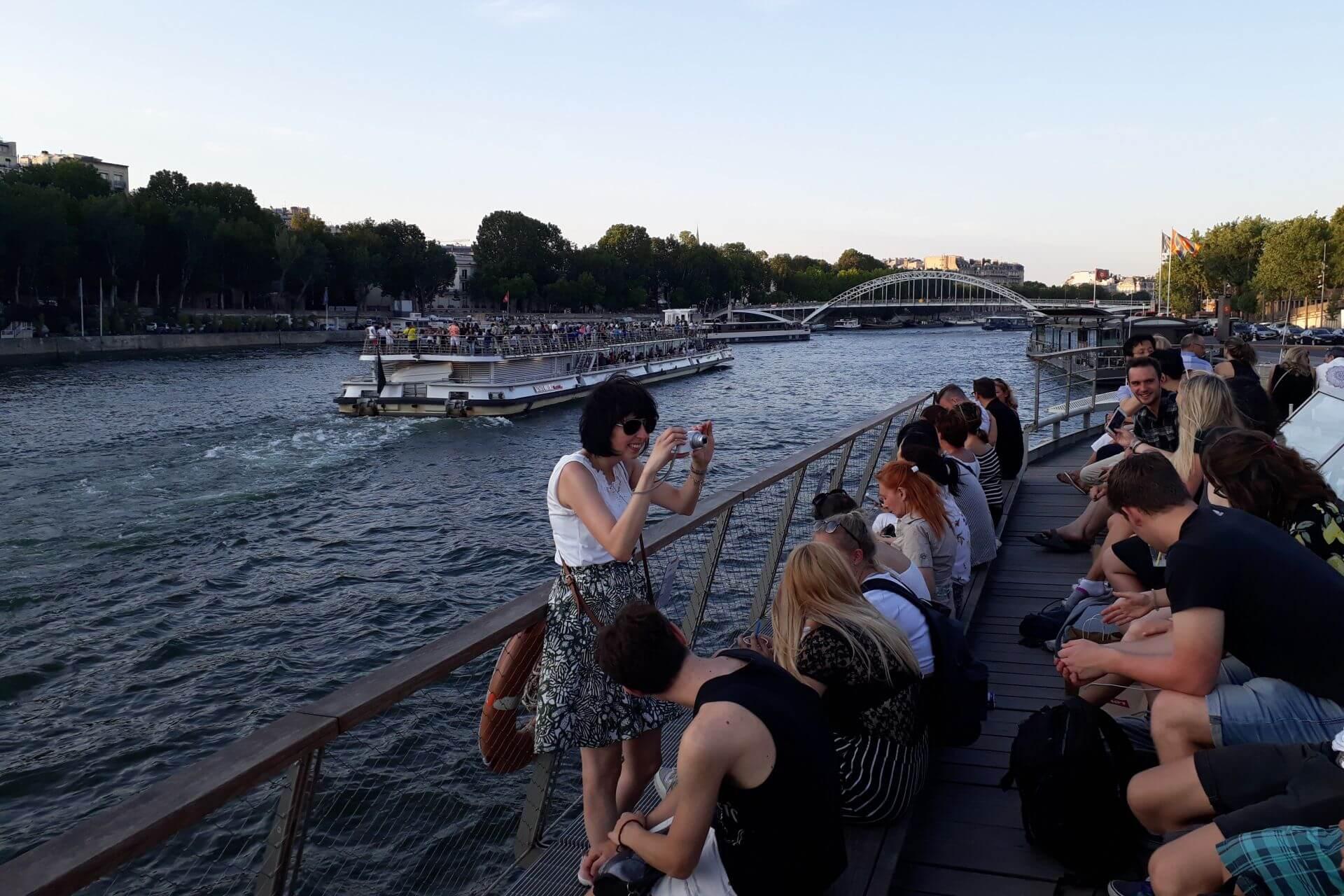 2019 07 07 Exkursion Frankreich Content08 Seine Bootsfahrt